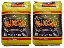 Cafe Yaucono Original Ground Coffee 14 oz 2 bags