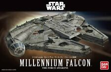 Star Wars Millennium Falcon Force Awakens 1/144 Model Kit Bandai NEW USA Seller