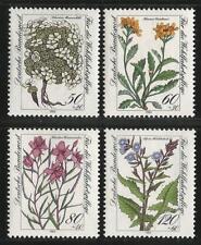 Allemagne (Ouest) 1983-fleurs alpines ANDROSACE Séneçon Willow Herb Sow-thistle