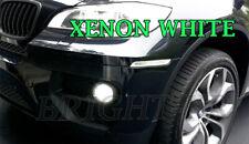 BMW X5 E70 SUPER XENON WHITE 6000K LED Fog Light Bulbs CANBUS