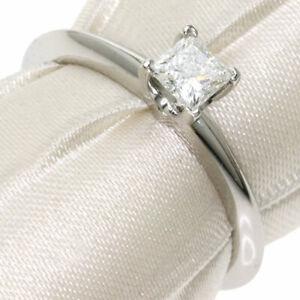 TIFFANY&Co.   Ring Diamond Platinum PT950