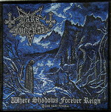 DARK Funeral ricamate/Patch # 12 where Shadows Forever Reign