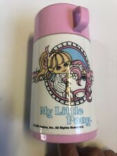 Vintage 1986 My Little Pony Aladdin Thermos for Lunchbox
