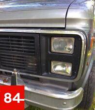 +GMC Vandura Chevrolet G10 G20 G30 Van 4x Scheinwerfer US EU E-Prüfzeichen+