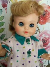 "10"" Eegee Little Susan Doll Bent Knee walker Vintage 60's"