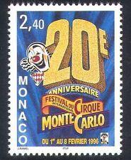 MONACO 1996 CIRQUE/CLOWNS/Festival/animation 1 V (s2814c)