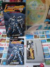 Super Famicom SFC:Earth Light - Luna Strike [TOP HUDSON SOFT] COMPLET - Jap