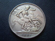 UK / GREAT BRITAIN / SILVER CROWN / 1897