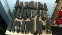 Lot Of 28 Lathe Carbide Insert Tool Holders