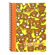 San-x Rilakkuma A5 Spiral Eco Friendly Notebook Note Pad : Yellow Rilakkuma