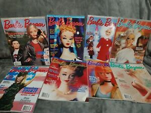 barbie bazaar magazine lot mixed years 8 mags 2000 and up