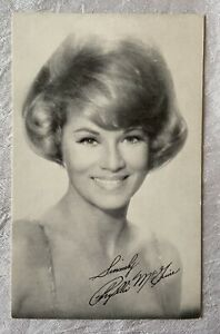 Vintage Arcade Exhibit Card - Actress Movie Star Phyllis McGuire
