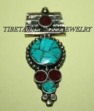 Nepalese Turquoise spacer Necklace Spacer 1 Nepal spacer beads tibet spacer 612