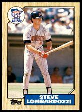 1987 Topps Traded Steve Lombardozzi Minnesota Twins #66T