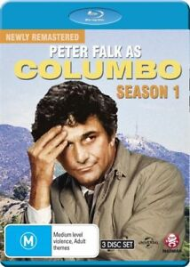 Columbo : Season 1 Blu-ray - brand new sealed 3disc set with special features!