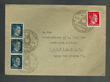 1945 Wolfach to Berlin Germany Reichsfuhrer SS Cover