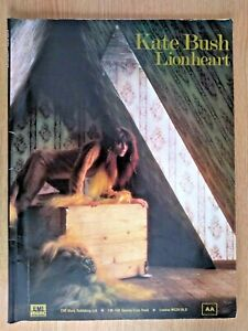 Kate Bush - Lionheart song book music sheet (NOT A CD)