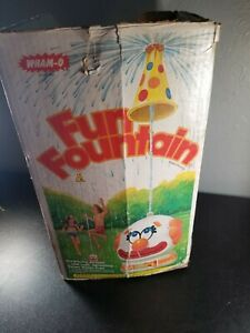 WHAM-O Fun Fountain Floating Clown Hat Sprinkler Summer Surprising Action 1978
