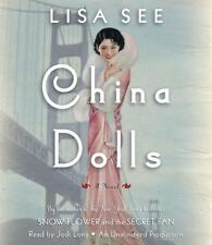 CHINA DOLLS by Lisa See 2014 CD Unabridged   AUDIO BOOK