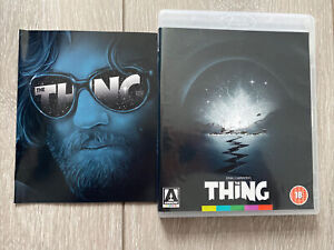 The Thing Blu Ray + Booklet (Arrow Video)