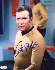 "(SSG) WILLIAM SHATNER Signed 8X10 Color ""Star Trek"" Photo with a JSA COA"