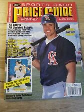 Sports Card Price Guide Monthly August 1993