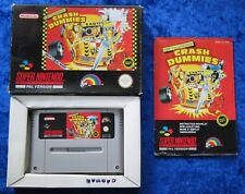 The Incredible Crash Dummies, OVP Anleitung, SNES, Super Nintendo Spiel