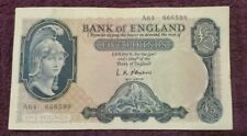 ND 1957 BANK OF ENGLAND, 5 Pounds, UNC.