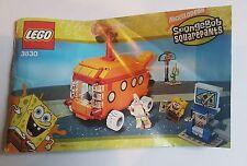 LEGO Spongebob #3830 Instruction Manual only - Free Post