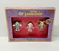 Vintage Baby Lamb Chop and Friends BendEms by JusToys Shari Lewis 1993