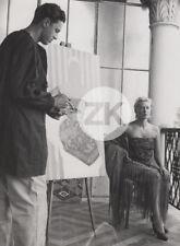 TILDA THAMAR Cinéma VIDAL-QUADRAS Peintre Espagne Studio Photo 1952