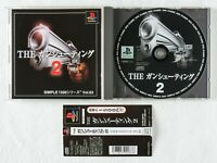 THE Gun Shooting 2 Simple 1500 Series Vol 63 PS1 D3 Playstation Spine From Japan