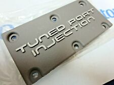New GM 1984- 1991 C4 Corvette Camaro Tuned Port Injection emblem plaque engine