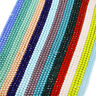 2/3/4/6/8/10mm Crystal Glass Rondelle Faceted Loose Spacer Beads Jewelry DIY yu