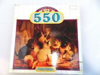 Frisky Felines Puzzle Kittens Cats Playing Jigsaw 550 Piece Pavilion 18 x 24 NEW