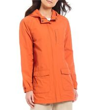 XL  $338 NWT EILEEN FISHER TIGER WASHED ORGANIC COTTON NYLON HOODED JACKET