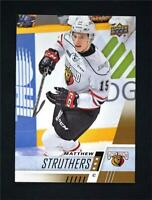 2017-18 Upper Deck UD CHL Base #61 Matthew Struthers