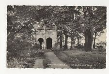 Wishing Temple Bishop Auckland Park 1961 RP Postcard 301a