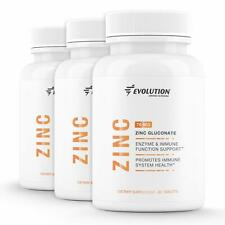 Zinc Gluconate 76 mg – Enzyme Immune Function and Immune Support (180 Tablets)