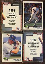 1992 Fleer Pro Cards ALBANY-Expos Minor League Complete UNOPEN Set G7015320