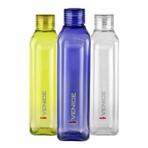 Plastik Kühlschrank Wasserflasche Set 3 Teile, 1 I, Mehrfarbig, Bpa-Frei