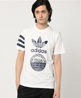 Adidas Originals Street Graphic T-Shirt Mens-Sportswear-Gym-Top Off-White