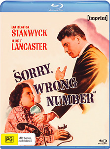 SORRY, WRONG NUMBER (BLU RAY) IMPRINT STANDARD EDITION - NEW / SEALED