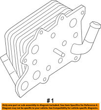 FORD OEM 11-18 F-350 Super Duty-Engine Oil Cooler HC3Z6A642A
