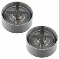 2 Pack Extractor Blades Replacement NutriBullet 600W 900W NB-101B NB-101S NB-201