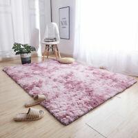 Teppich Hochflor Shaggy Teppiche Langflor Wohnzimmer Pflegeleicht 160x230cm Rosa