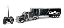 World Tech Toys DieHard 1:48 R/C Semi Truck with Trailer