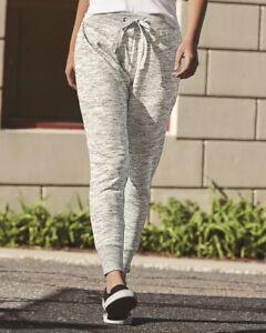 J. America - Melange Fleece Women's Jogger Pants - 8675