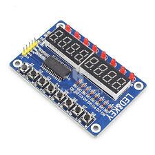 New 8 Bit Digital LED Tube TM1638  Keypad Display Module For Arduino UNO R3 Due