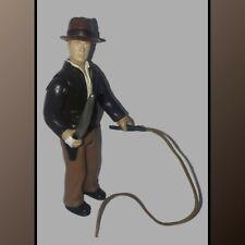 Vintage 1984 Indiana Jones and the Temple of Doom Action Figure Hat Whip Machete